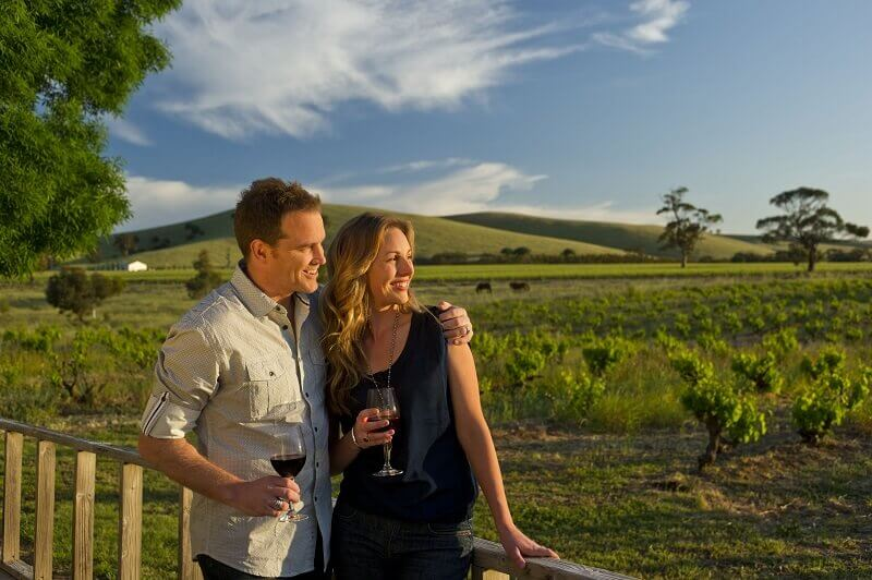 Drinking Barossa Valley Winery - Couple