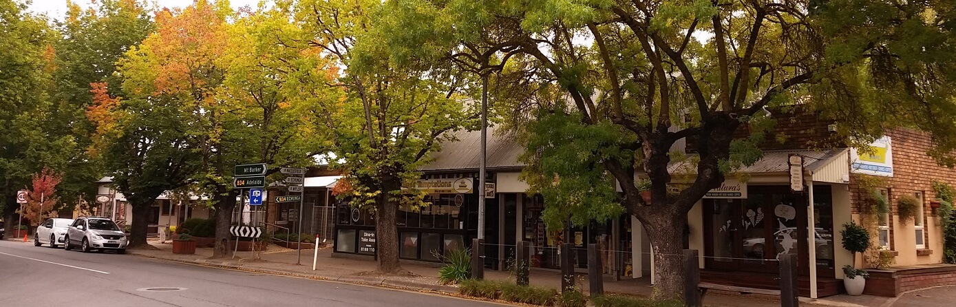 Is Hahndorf in the Barossa Valley